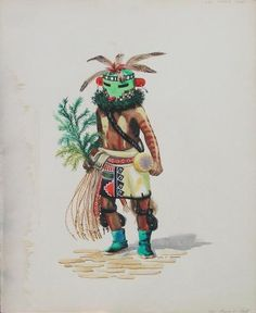 """Green Kachina"""