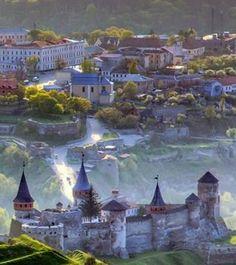 Кам'яне́ць-Поді́льська форте́ця / Kamianets-Podilskyi Castle, Ukraine, from Iryna