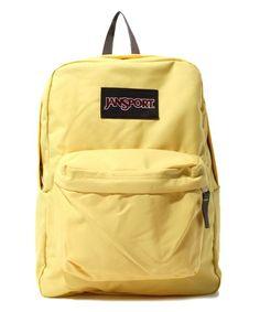 Jansport Yellow Super Breaks Boys Backpacks School Backpack