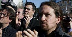 Iglesias y Sánchez constatan la necesidad de crear un Gobierno alternativo al de Rajoy  y se citan para el día 30 #pactos #gobierno #PSOE #Podemos #PedroSanchez #PabloIglesias