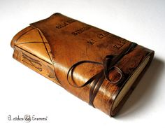Every self-respecting Adventurer needs a leather-bound journal. Here is one you can have personalized, as a custom-fit gift for yourself or a friend.