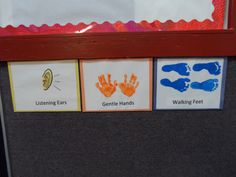 #littlehandsbigplans Simple Rules for the One Year Old Classroom