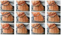 plata pulsera de los hombres de karma cable de cera por BelovedMens