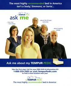 Brag and boast claims with/ little more make ads like this/ hard to recommend. #AdHaikuesday #TempurPedic