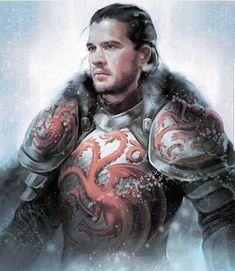 "12.9k Likes, 42 Comments - Game of Thrones (@gameofthronespost) on Instagram: ""Jon Snow/Aegon Targaryen #gameofthronespost #gameofthrones #hbo #jonsnow"""