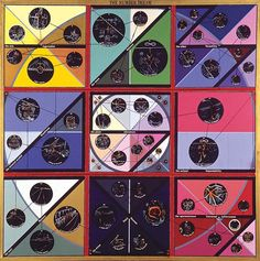 Paul Laffoley - The Number Dream, 1968 Oil, acrylic, ink, vinyl lettering on canvas Frieze Magazine, Hayward Gallery, The Doors Of Perception, Canvas Letters, Visionary Art, Outsider Art, Vinyl Lettering, French Artists, Op Art