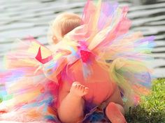 Make an adorable homemade tutu—perfect for dress-up, costume, or a special occasion. This technique allows you to quickly create an adorable. Crafts To Do, Crafts For Kids, Homemade Tutu, Crochet Tutu Dress, How To Make Tutu, Tutu Tutorial, Baby Tutu, Tulle Tutu, Birthday Tutu