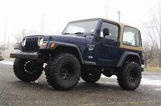 "2003-06 Jeep Wrangler TJ 4"" Coil Lift"