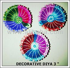 Diwali Decorative Designer Diya