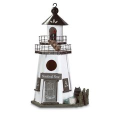 Lighthouse Bird House – Baubles-N-Bling