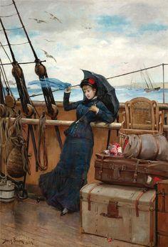 Я уезжаю в дальний путь... Henry Bacon (American, 1839–1912). Обсуждение на LiveInternet - Российский Сервис Онлайн-Дневников