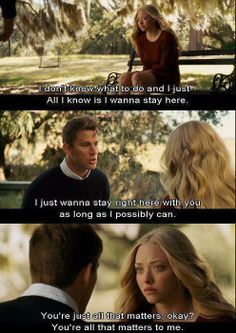 I actually haven't seen dear John,  But I really want to.  & omg Channing Tatum. ♡