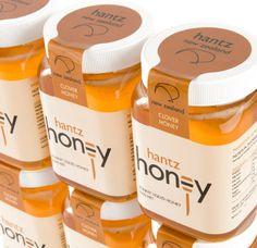 food labels for honey product | Hantz Honey Packaging