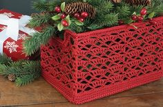 Heritage Lace Crochet Wire Frame Basket