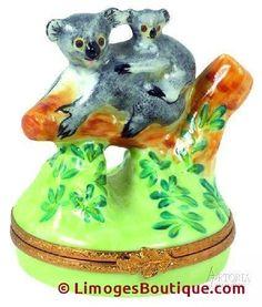 Koala Bear Limoges Boxes