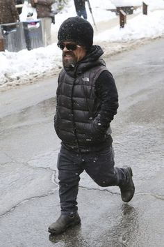 Peter Dinklage Photos Photos - Celebrities are seen out and about in Park City, Utah on January 21, 2017. - Celebrities Are Seen Out and About at the 2017 Sundance Film Festival