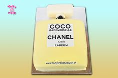 Torta parfém coco chanel