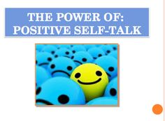THE POWER OF POSITIVE SELF-TALK FREE:  The proven #1 way to build your own positive self-esteem is through thinking positive thoughts about yourself. Use this 13-Slide PowerPoint presentation and worksheet to explain the power our brain has over how a person thinks and feels, and then have students practice this important skill.