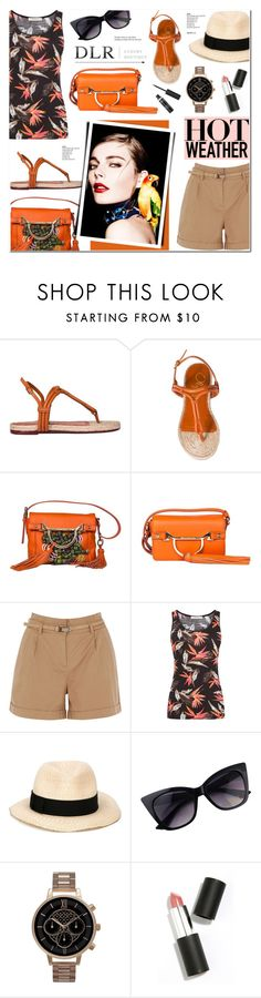 """DLR -Luxury Boutique"" by anyasdesigns ❤ liked on Polyvore featuring Charlotte Olympia, Borbonese, Oasis, Eugenia Kim, Olivia Burton, Sigma Beauty, Tiffany & Co., dlr and dlrboutique"