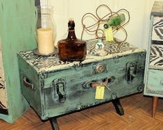 repurposed furniture | ... with appliques Repurposing and Rejuvenating Furniture with Appliqués