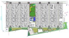 2d CAD drawing of residence house township master plan that shows car parking 2 BHK, 3 BHK house plan, road line, club house, garden, sports game play ground, and 6 gate for entrance in the society. Download the AutoCAD DWG file. Thank you so much for downloading DWG file from our website. Architecture Mapping, City Architecture, Road Lines, Building Layout, Central City, High Rise Building, Cad Drawing, Location Map, Master Plan