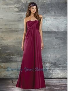 178.27$  Buy here - http://vicoa.justgood.pw/vig/item.php?t=ubqwl4v15362 - A-Line Strapless Floor Length Long Satin Bridesmaid Dress 178.27$