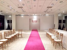 Check out this clean runway and set design created by Active's Fashion Event Division! Fashion Events, Video Lighting, Set Design, Division, Atlanta, Runway, Audio, Check, Stage Design