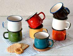 ハンツマン 琺瑯マグカップ ナチュラル雑貨のオルネ ナチュラルテイストな生活雑貨、キッチン雑貨、文具雑貨、ガーデニング雑貨、服飾雑貨などをご紹介する通販サイトです。