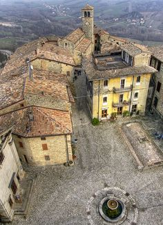 Vigoleno - Piacenza, Italy.Piacenza is a city and comune in the Emilia-Romagna region of northern Italy.