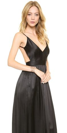 ONE by Contrarian Babs Bibb Maxi Dress | SHOPBOP SAVE 25% Use Code:INTHEFAM25