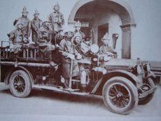 Primer escuadrón de bomberos de Guadalajara, 1930.