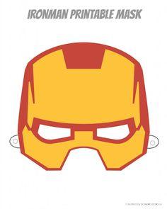 Free superhero printable masks. Six designs to choose from.   ambersimmons.com