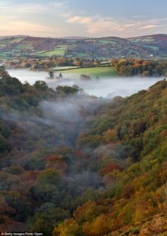 Beautiful countryside: The town lies in the Teign Valley. Pictured above, the Teign Gorge in Dartmoor Best Places To Live, Great Places, Places To Travel, Beautiful Places, Lovely Things, Travel Destinations, Dartmoor National Park, Devon Uk, Weekends Away