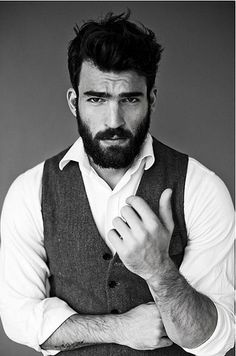 Men with beards are sexy.