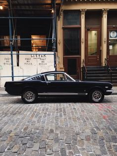 Mustang - nice, but too high in the back. Fastbacks should be level, if not low all around, unless done classic gasser style. Hmm.....
