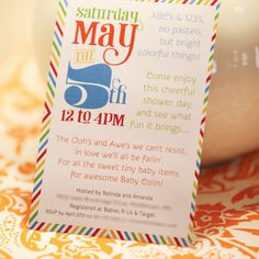 {City Inspired} ABC NYC Baby Shower // Hostess with the Mostess®