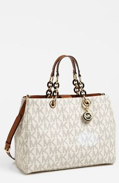 MICHAEL Michael Kors 'Cynthia' Satchel, Large available at #Nordstrom