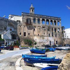 Abbazia San Vito- polignano, Bari, Italy