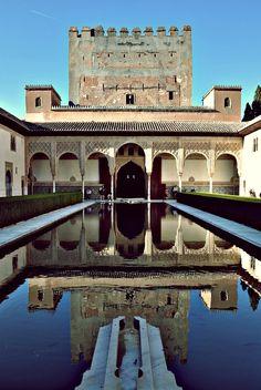 La Alhambra de Granada. Unos de mis lugares favoritos
