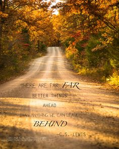 Inspirational Quote Photo CS Lewis Quote Rustic Road by cklausen, $26.00