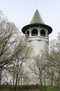The Witch's Hat Water Tower.....Minneapolis MN