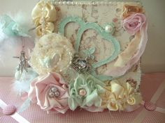 Beautiful card in pastels