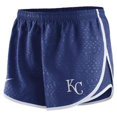 Nike Modern Tempo (MLB Royals) Women's Running Shorts Size Medium (Blue)