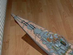 Scale Model Ships, Scale Models, Bismarck Model, Battleship, German, Building, Color, Model Building, Deutsch