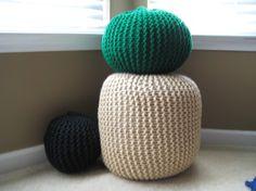Knit Pouf (large - $75 USD + shipping)