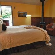 Many rooms and suites come equipped with woodstoves !