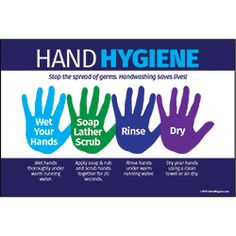 Hands are put to the test during the winter season. The pungent cold, the icy wind and the overheated indoor air help to dry our hands. Caring for your hands at this time of year is therefore an indispensable gesture. Hand Hygiene Posters, Infection Control Nursing, Hand Washing Poster, Hand Scrub, School Health, Hand Care, Personal Hygiene, Dry Hands, Feet Care
