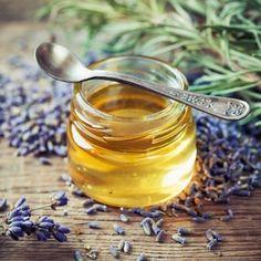 Lavender & Honey Balsamic Vinaigrette — The Olive Scene Dried Lavender Flowers, Growing Lavender, Lavender Honey, Planting Lavender, Flavored Honey Recipe, Honey Recipes, Honey Balsamic Vinaigrette, Balsamic Vinegar, How To Make Oil