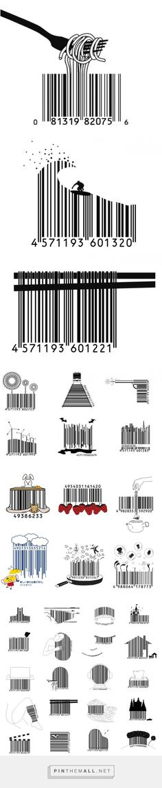 These Japanese Barcodes Are So Kawaii! (Bar Top Ideas)