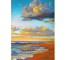 Lynda Robinson Framed Print featuring the painting Marengo Sunrise by Lynda Robinson Abstract Landscape, Landscape Paintings, Landscapes, Abstract Art, Pastel Art, Beach Art, Painting Inspiration, Painting & Drawing, Watercolor Paintings